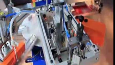 T恤衣服二手双色快速标签丝印机无纺布温州益彰机械有限公司