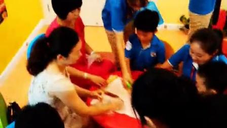 爱贝国际少儿英语西安太奥中心2015年7月18日ECA DIY手工烘焙制作短片花絮