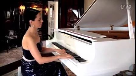 外籍女钢琴独奏