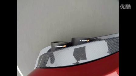 【亿佰欧无锡】捷豹F-Type V6 改装CMST碳纤维包围及四出中尾段阀门排气
