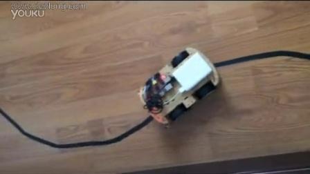 制作树莓派wifi自动寻轨小车