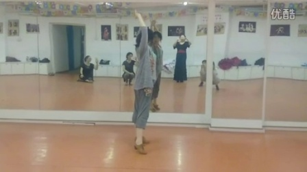 Vega的solea apola编舞课片段