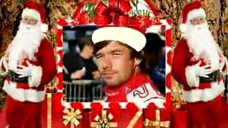 祝雪铁龙拉力车队圣诞快乐