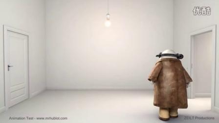 奥斯卡最佳动画短片- 《Mr Hublot 哈布洛先生》制作花絮动画测试