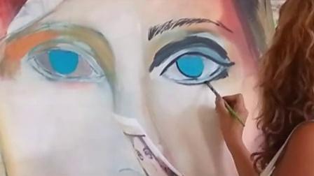 Shirin Donia   painting