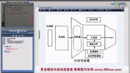 汽车维修视频教程 三速液控自动变速器及用油元件 片段