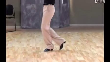 18-尤莉娅桑巴舞教学《左轉步-女士後半轉》