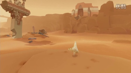 【拌饭】PS4神作Journey风之旅人全流程实况攻略解说part1
