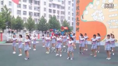 原创小苹果广场舞教学视频分解慢动作 (10)