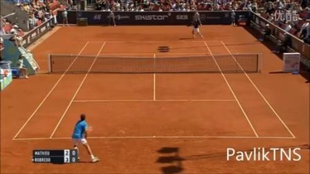 2015 ATP 瑞典赛 QF 马休vs罗布雷多 HL