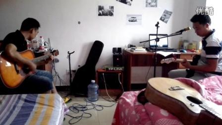 无聊的配合《蓝莲花》吉他弹唱