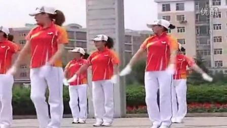 佳木斯快乐舞步第二套 佳木斯有氧健身操 减肥操廋腰廋肚子减赘肉