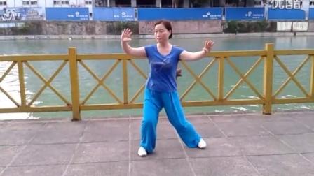 宣恩美女表演24式太极拳