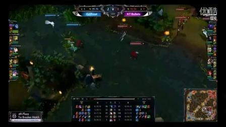 OGN联赛S3冒泡赛KT Bullets~vs~CJ Frost 2