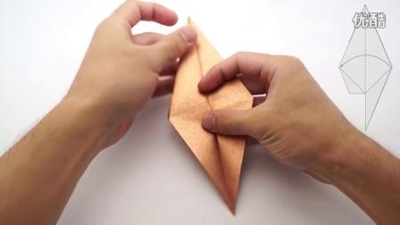 手工折纸-栗鼠Chinchilla (Jo Nakashima)