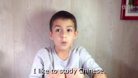 超萌的小老外讲汉语,赞!