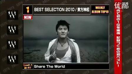 【AE】100228.CDTV-东方神起(1位)BEST ALBUM