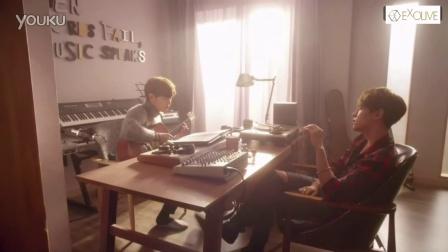 [FN007]伯贤哼歌Cut 韩剧< 我的邻居是EXO > EP06 中文字幕 - EXO