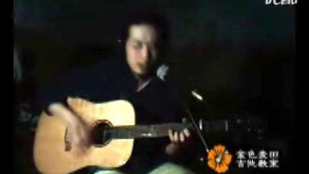 吉他弹唱《挪威森林》青岛吉他教室
