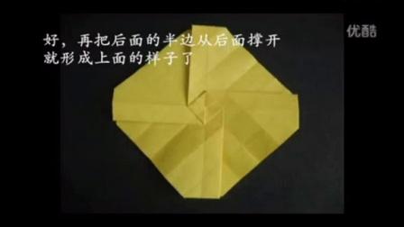 手折玫瑰花教程 简单手折玫瑰花教程 手折玫瑰花教程图解