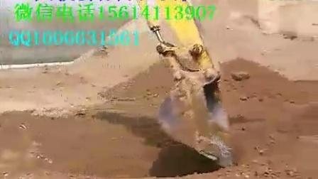 (一天教会你开挖掘机)挖掘机教学培训挖沟、找平