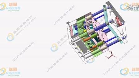 蓝图模具设计培训李凤显-前模行位开模运动