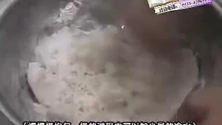 视频 广东点心制作过程蜜汁叉烧包