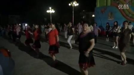 窝洛沽花园小区广场舞 原地热身操