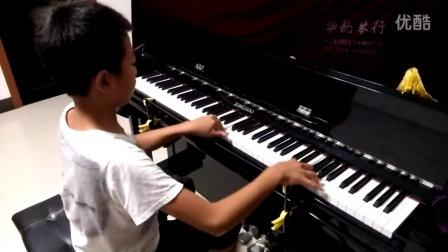 程方哲钢琴八级考级《放马曲》