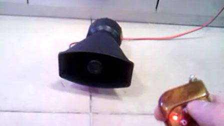 100W无线警报器 扬声器 喇叭