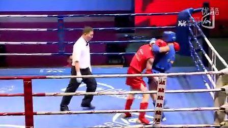 王栋东VS王奔(2011年第四届泰拳比赛7月28日第二十一场男子63.5KG)