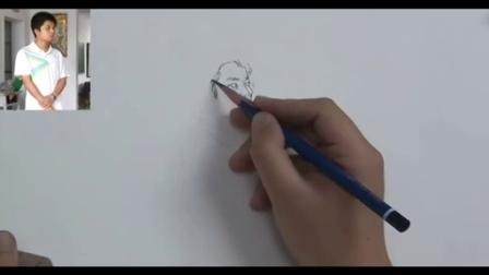 幼儿口诀简笔画教程 彩铅笔画入门教程景物