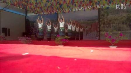 西双版纳勐腊县勐远城子傣寨庆1377新年舞蹈 94