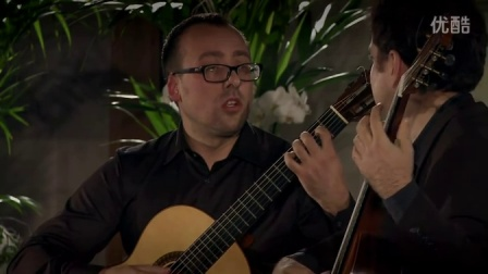 黑山吉他二重奏 Montenegrin Guitar Duo plays Adagio op. 44c by Gerard Drozd