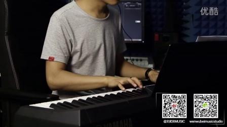 南山南 文武贝钢琴版_tan8.com