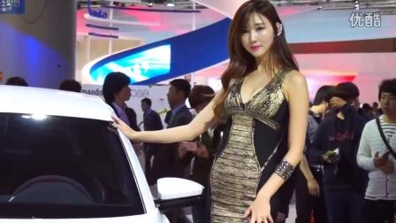 2015首尔车展性感模特4