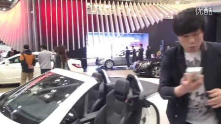 2015首尔车展性感模特3