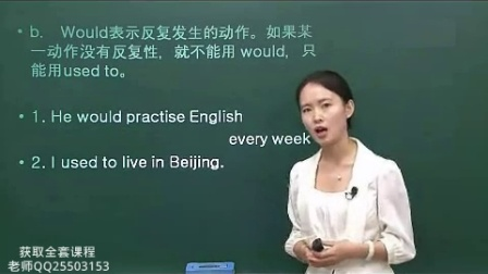 零起点英语学习 常用英语口语-英语语法