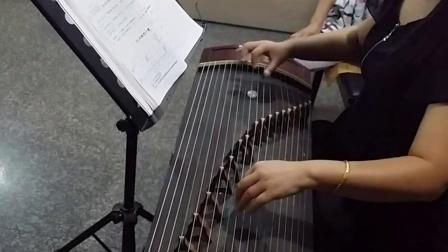 古筝老师示范交城山20150805