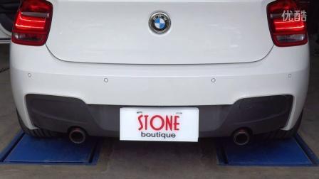 宝马 BMW F20 M125 STONE巨石雙出中尾段排气管