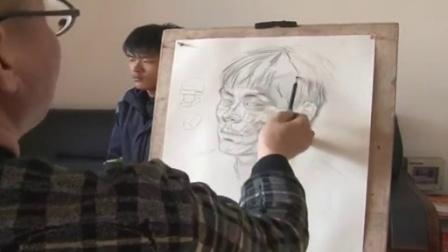 一片美丽树叶绘画教案 儿童画线描画教学计划