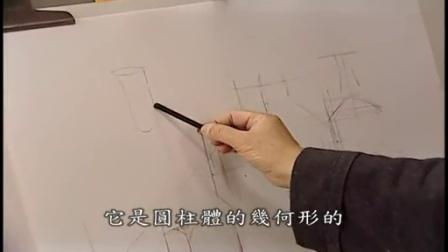 水溶彩铅画入门视频 小学简笔画教案大全
