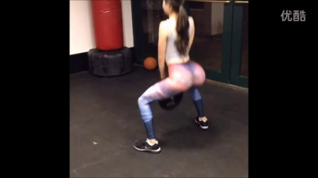 Jen Selter 2015- NYC Fitness Model Booty Workout! -