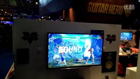 Gamescom 2015《街霸5》- Vega VS Ryu