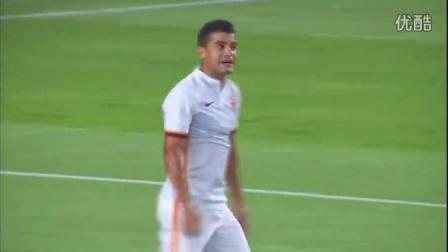 甘伯杯:巴萨3-0罗马比赛集锦