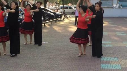 沁水县天安好心态健身队双人舞