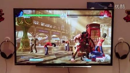 Gamescom 2015《街霸5》- Necalli VS Vega