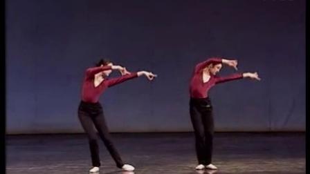 中国古典舞身韵短句双晃手