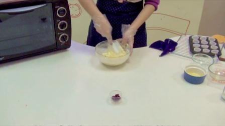蔓越莓马芬蛋糕DIY