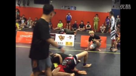 北京市柔术公开赛  何建伟综合格斗馆 教练和学员一起参赛  一同夺冠 激动人心